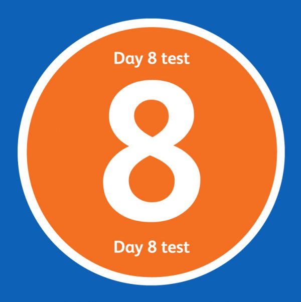Day 8 Covid Test